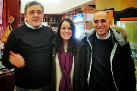 Caludio, Joanie & Domenico