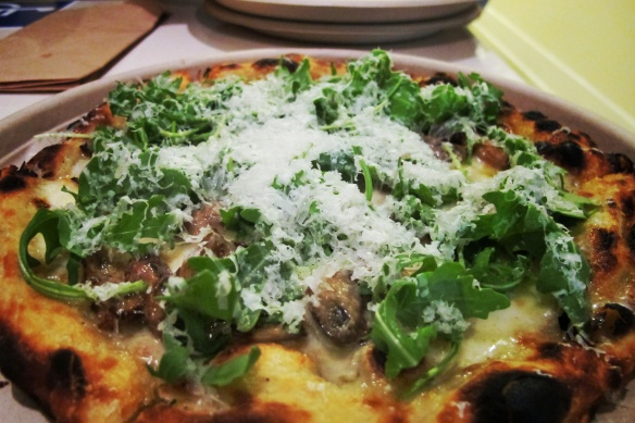 Pizza Bianca @ClusiBatusi