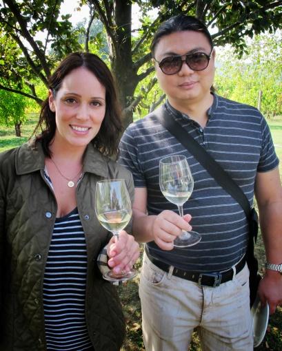 Stefano and Joanie @Villa Sparina