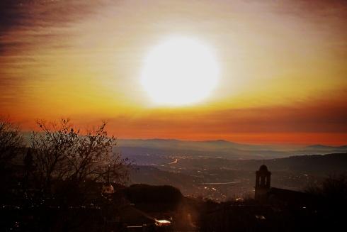 Tramonto Perugia