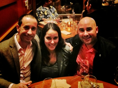 Fabio, Joanie & Ryan @Mozza Newport Beach