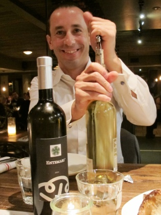 Fabio Angius and the Vermentino