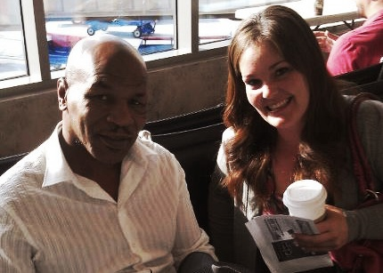 Mike Tyson and Kristin Bonfiglio