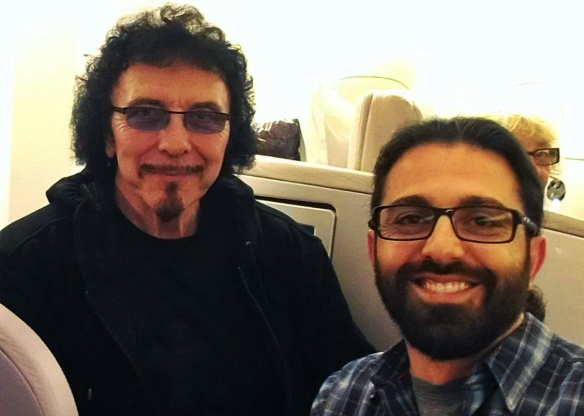Tony Iommi and Emil Karapetian